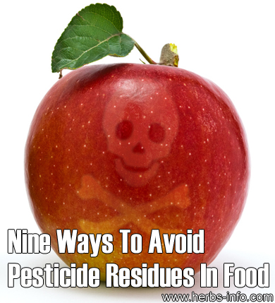 Ways To Avoid Pesticide Residues In Food