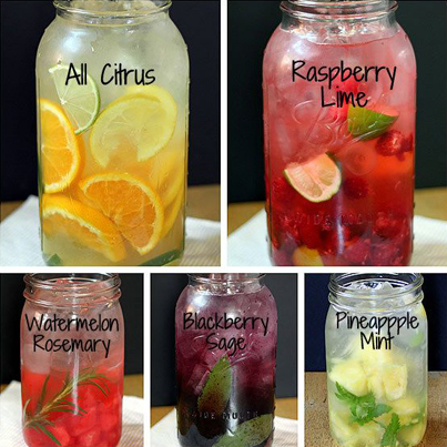 Amazing All-Natural Fruit Water