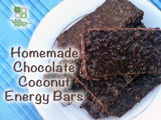 Amazing Sugar Free Chocolate Coconut Energy Bars Recipe