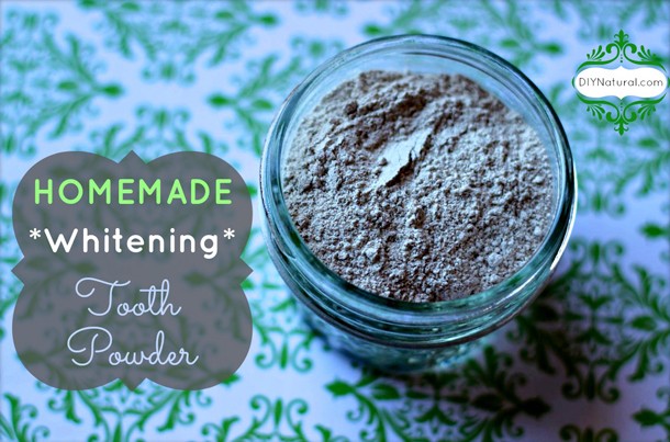 HomeMade Herbal Tooth Whitening Powder