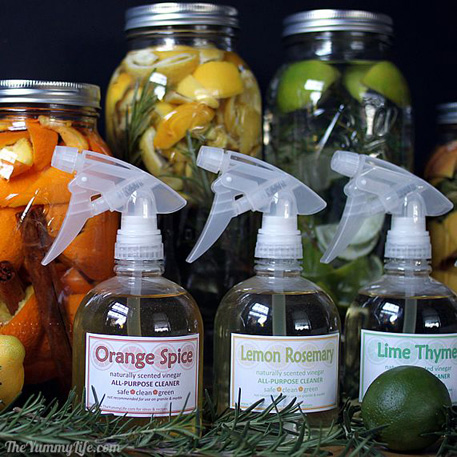 Non-Toxic-Herbal-Citrus-Vinegar-Cleaners