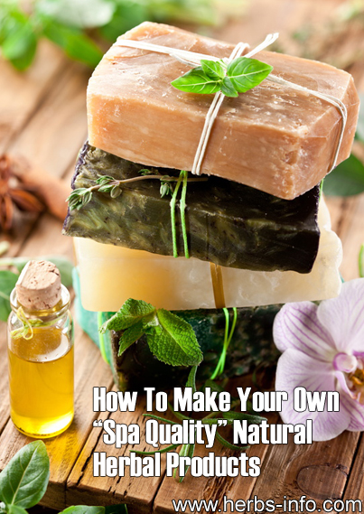How To Make Your Own Spa Quality Natural / Herbal Product Range