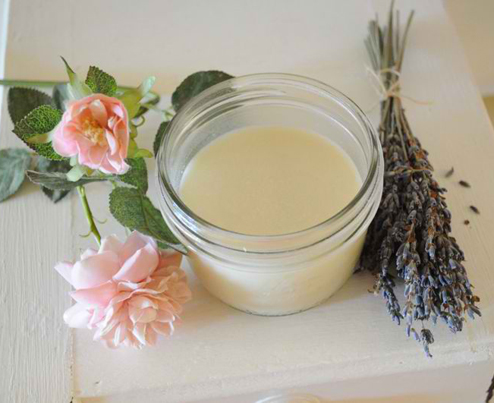How To Make A Natural Lavender and Rose Deodorant