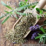 How To Make Your Own Herbes de Provence