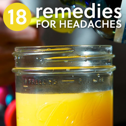 18 Natural Remedies For Headaches