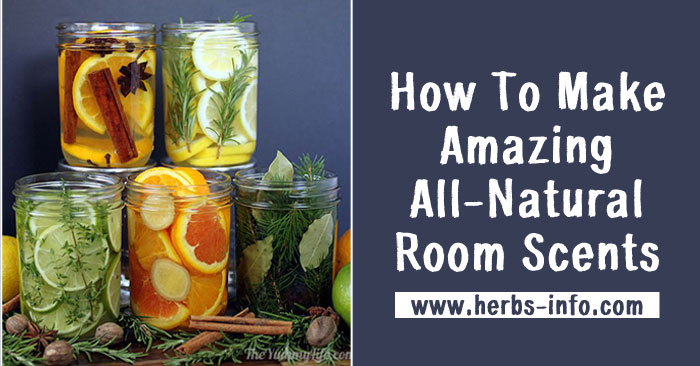 DIY Amazing All-Natural Room Scents