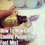 How To Make A Cooling Peppermint And Aloe Vera Foot Mist