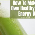 "How To Make Your Own Healthy Natural ""Energy Drink"""