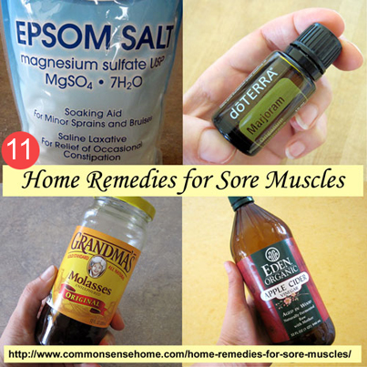 11 Home Remedies For Sore Muscles