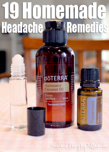 19 Homemade Headache Remedies