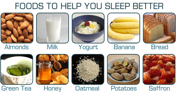 Best Foods For Better Sleep
