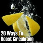 20 Ways To Boost Circulation