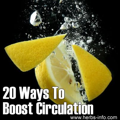 20 Ways To Boost Circulation
