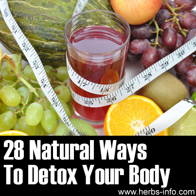 Natural Herbs For Detoxing Body