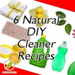 6 Awesome Natural Homemade Cleaners