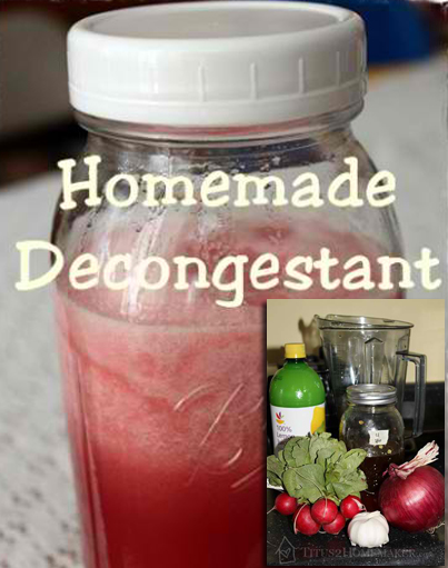 How To Make A Homemade Herbal Decongestant