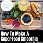 How To Make A Superfood Smoothie