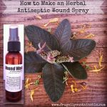 How To Make An Herbal Antiseptic Wound Spray
