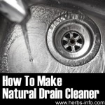 How To Make Natural Drain Cleaner