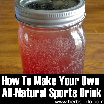 How To Make Your Own All-Natural Sports Drink
