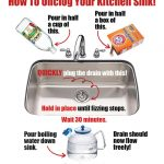 How To Unclog Your Sink The Natural Way