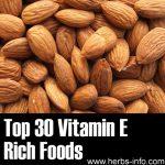 Top 30 Vitamin E Rich Foods