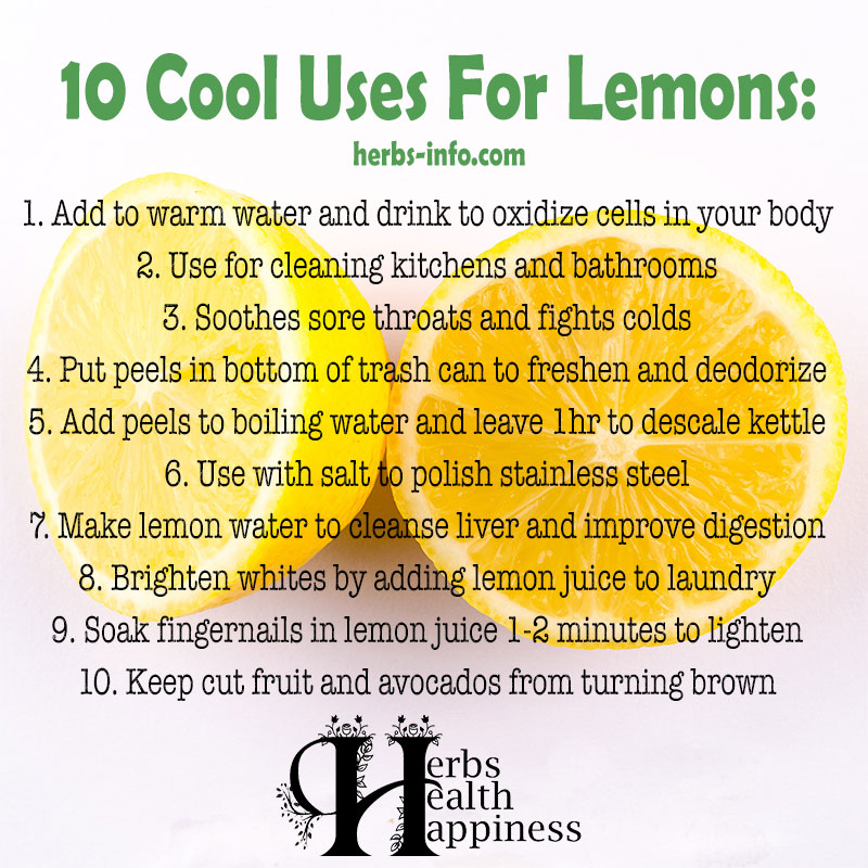 10 Cool Uses For Lemons