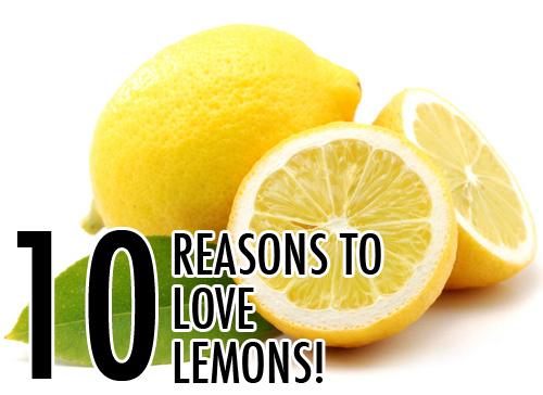 10 Reasons To Love Lemons
