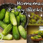 3 Day Pickles Recipe