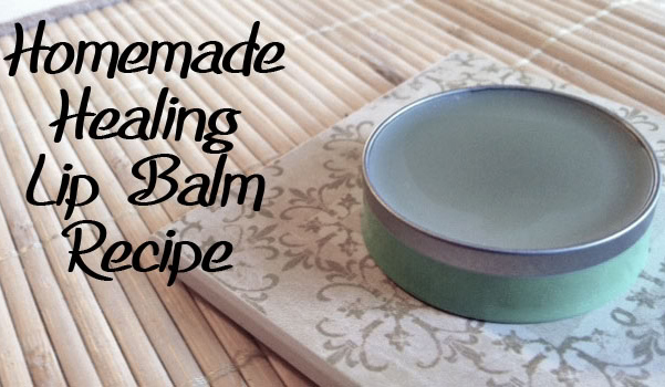 How To Make A Healing Lip Salve