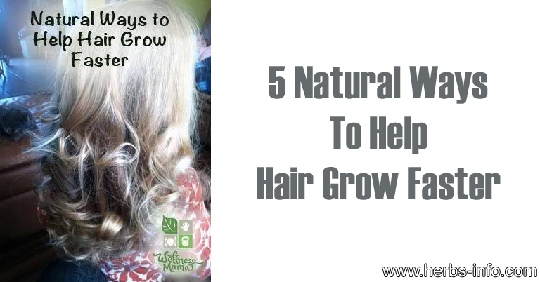 NATURAL WAYS TO PROMOTE HAIR GROWTH
