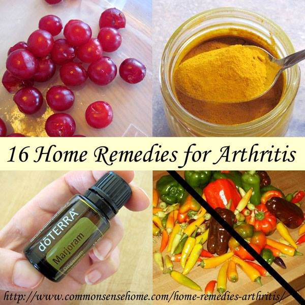16 Home Remedies For Arthritis