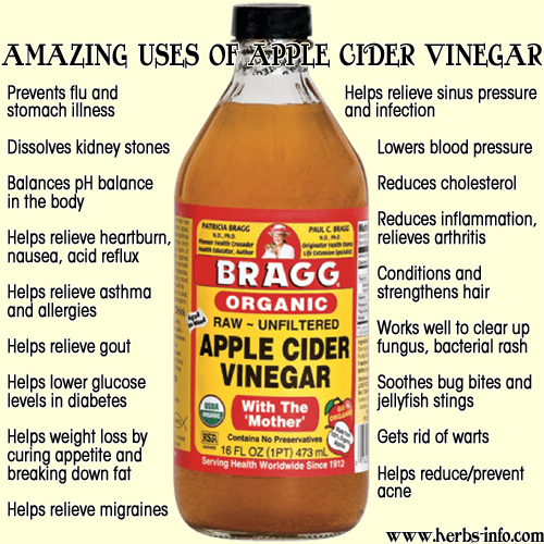 Amazing Benefits Of Apple Cider Vinegar