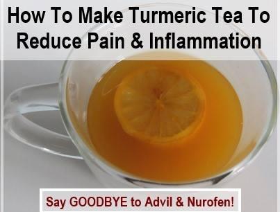 How To Make Turmeric Pain Relief Tea