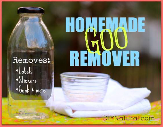How to Make Homemade Natural Adhesive And Goo Remover