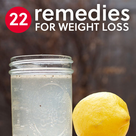 22 Home Remedies For Weight Loss