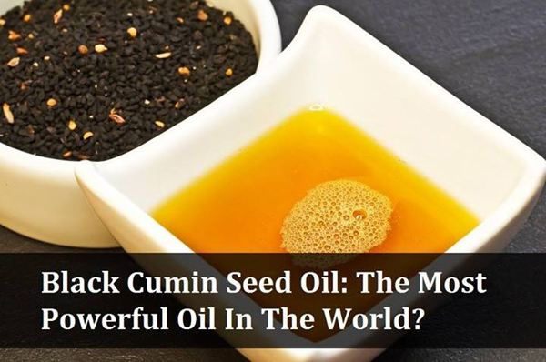 Black Cumin Seed Oil - The Most Powerful Oil In The World
