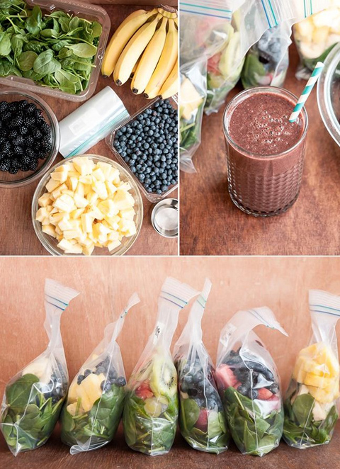 How To Make A Month Of Smoothies In 1 Hour