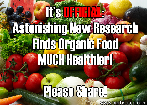 It's Official New Research Finds Organic Food MUCH Healthier