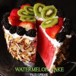 Amazing Paleo Watermelon Cake