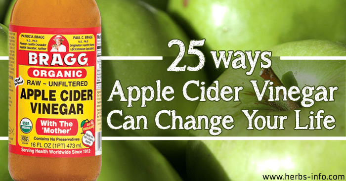 25 Ways Apple Cider Vinegar Can Change Your Life