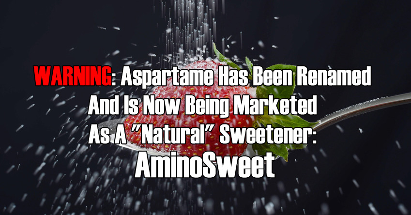 Aspartame Has Been Renamed
