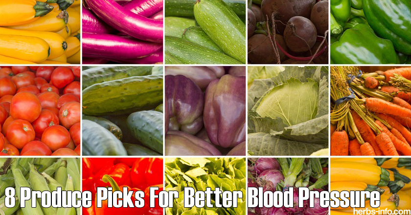 8 Produce Picks For Better Blood Pressure