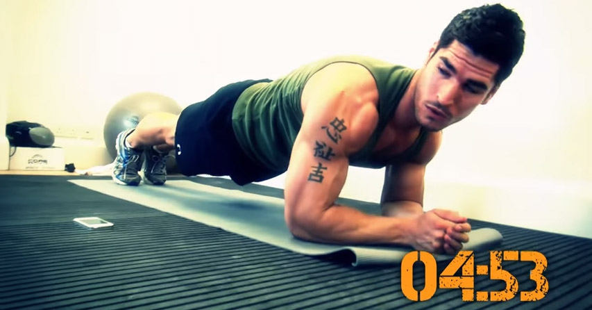 Amazing 8-Minute Abs Workout