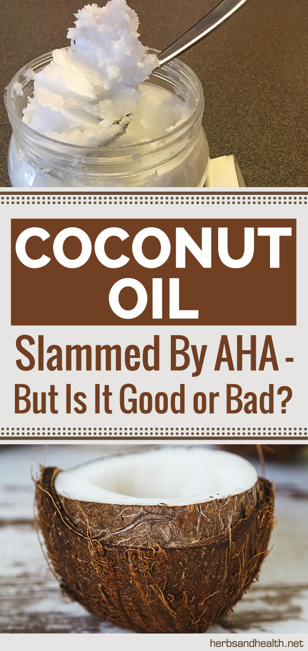 Coconut Oil Slammed By AHA - But Is It Good Or Bad?