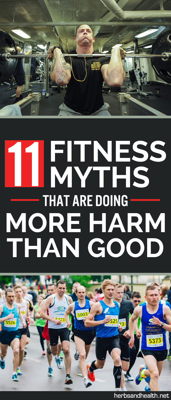 11 Fitness Myths That Are Doing More Harm Than Good