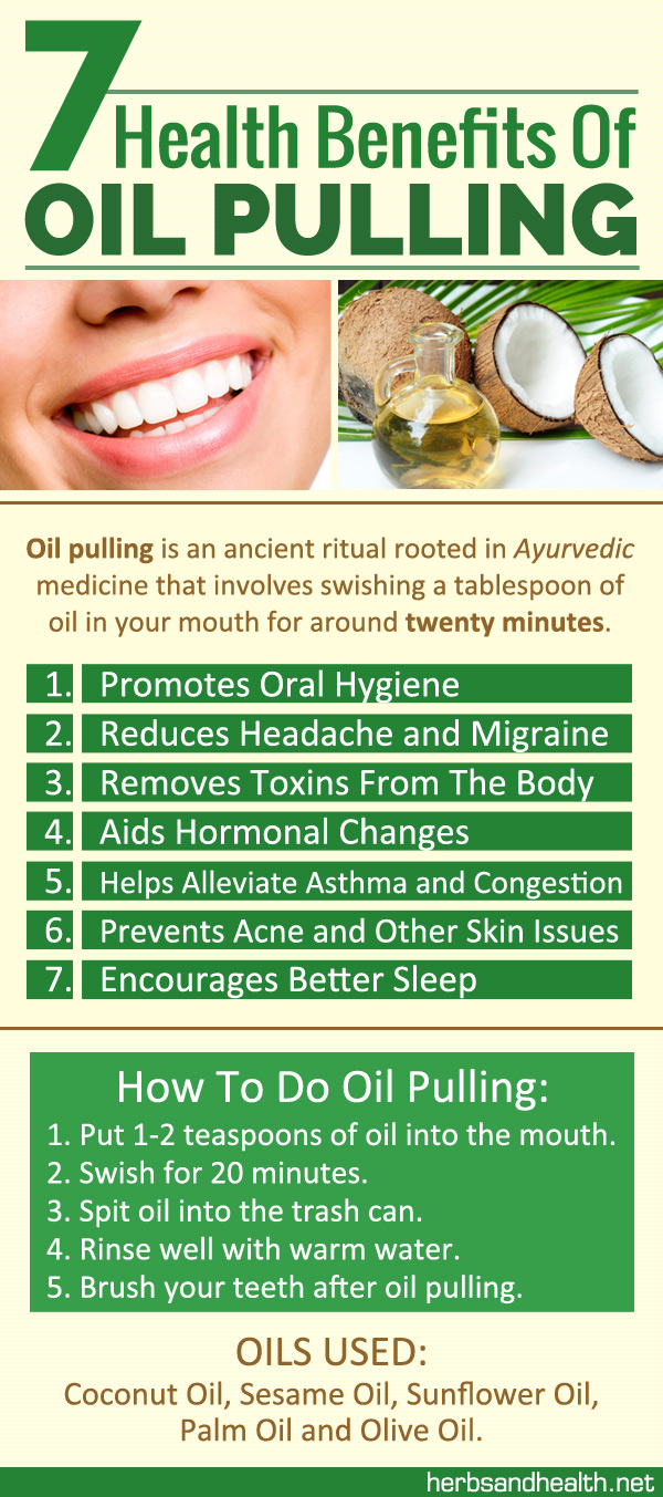 7 Health Benefits Of Oil Pulling (With Tutorial)
