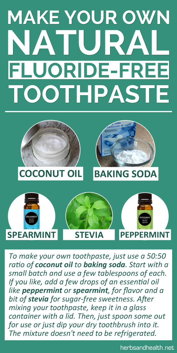 NEW - Make Your Own Natural Fluoride-Free Toothpaste