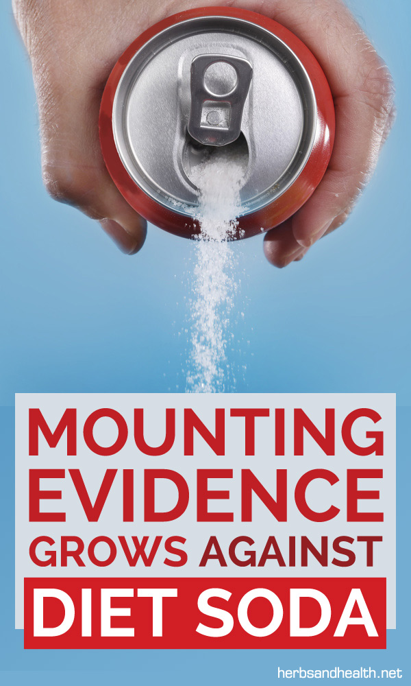 Mounting Evidence Grows Against Diet Soda