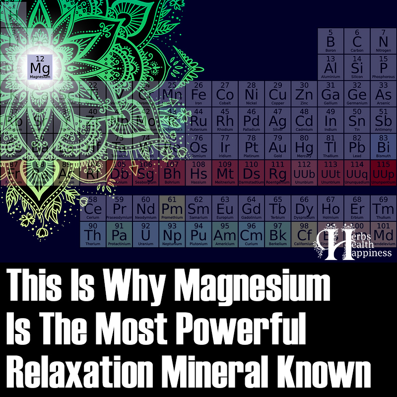 This Is Why Magnesium Is The Most Powerful Relaxation Mineral Known